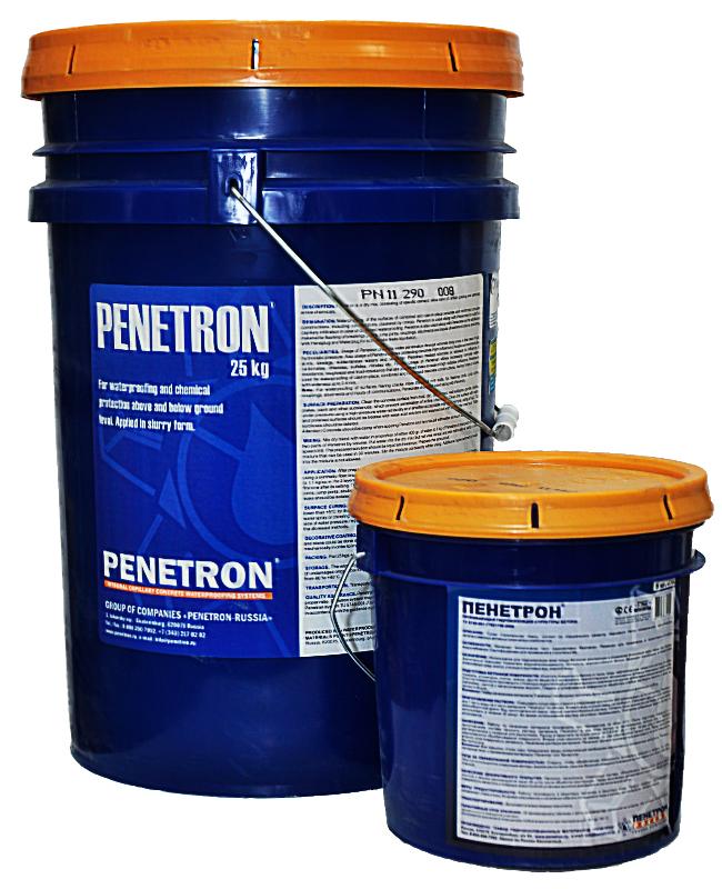 Пенетрон смесь сухая гидроизоляционная проникающая капиллярная